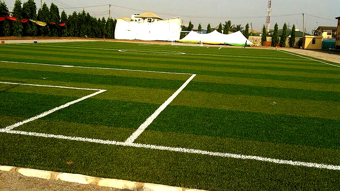 School Soccer Pitch